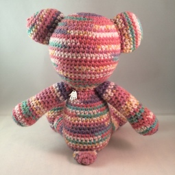 Rainbow Bear (back)