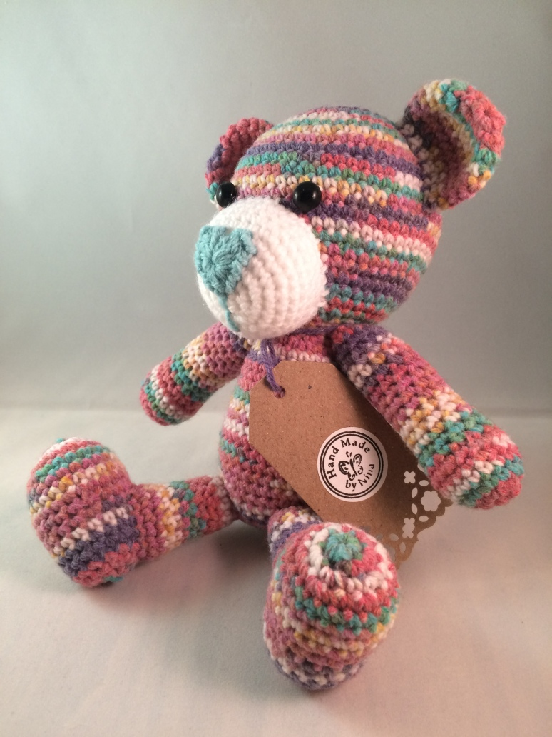 Rainbow Bear (side)