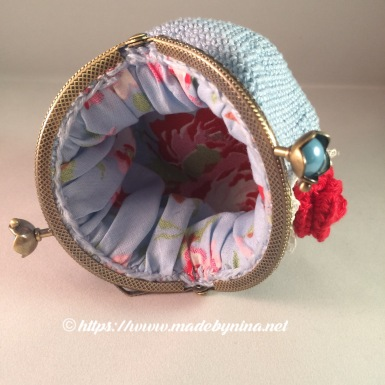 Blue *Coin purse (inside)