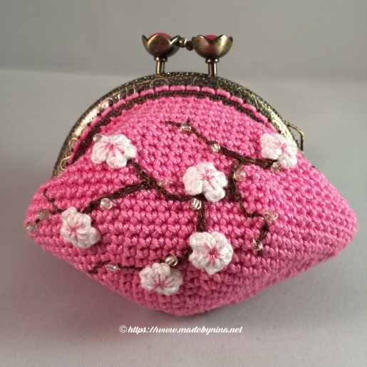 Cherry Blossom *Coin Purse