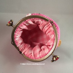 Cherry Blossom *Coin Purse (inside)