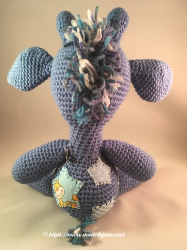*Blue Giraffe (back)