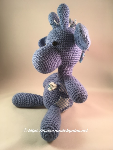 *Blue Giraffe (left side view)