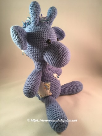 *Blue Giraffe (right side view)