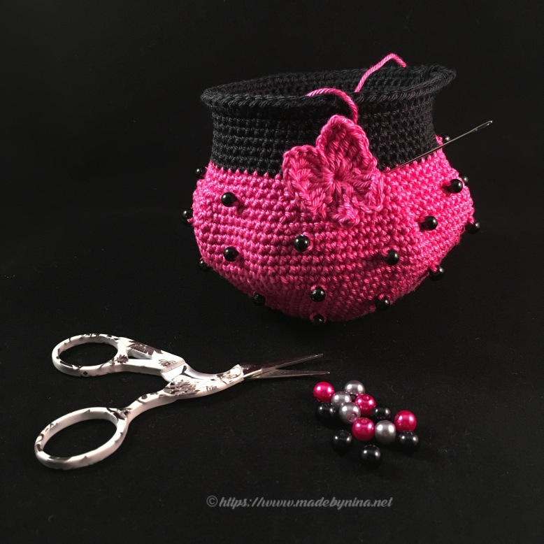 Hot pink with butterfly *coin purse