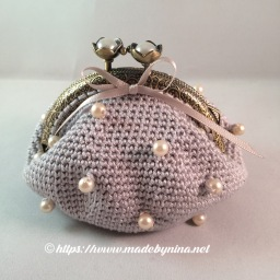 Silver & pearl *Coing Purse