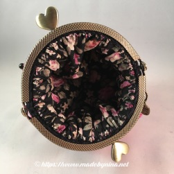 Pink 'n Black butterfly *Coin Purse (Inside)