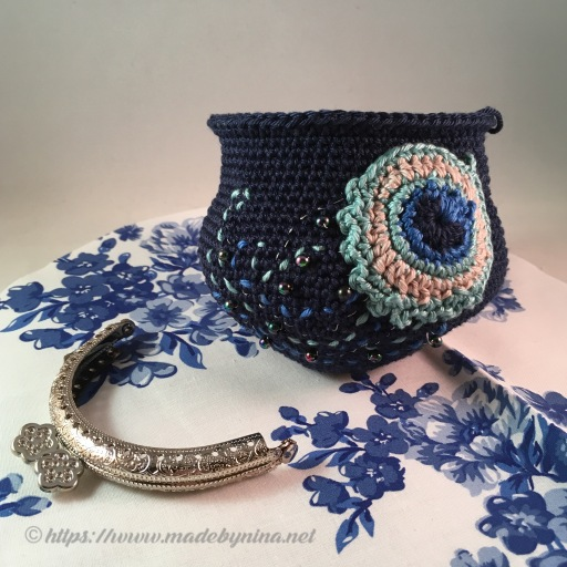 Helen's Peacock Feather *Coin Purse (WIP)