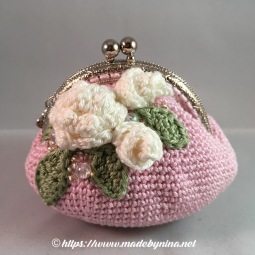 Pink Rose *Coin Purse