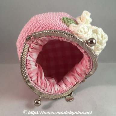 Pink Rose *Coin Purse (Inside)