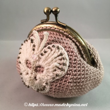 Butterfly *Coin Purse (Side)