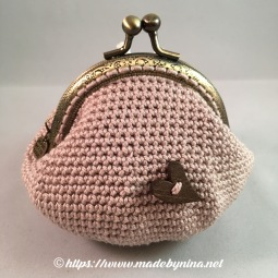 Butterfly *Coin Purse (Back)