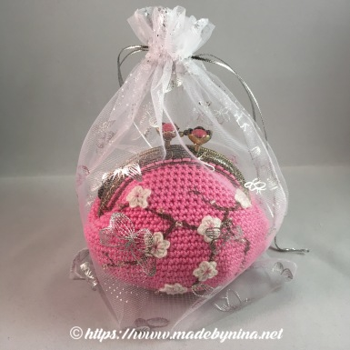 Pink Cherry Blossom *Coin Purse (Packed)