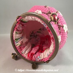 Pink Cherry Blossom *Coin Purse (Inside)