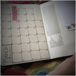 Bullet Journal (monthly planner)