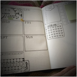 Bullet Journal (weekly planner)