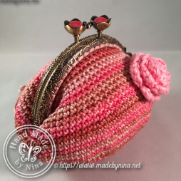 Shades of Pink *Coin Purse (Side)