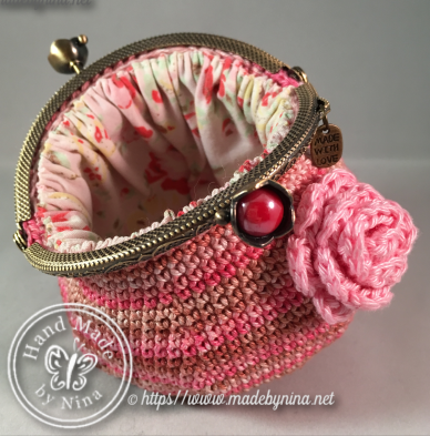 Shades of Pink *Coin Purse (Open)