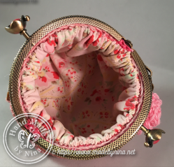 Shades of Pink *Coin Purse (Inside)