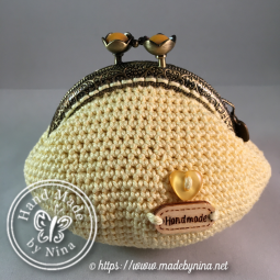 Yellow Cherry Blossom *Coin Purse (Back)