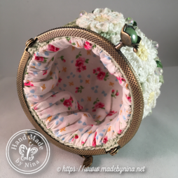 Green Daisy *Coin Purse (inside)