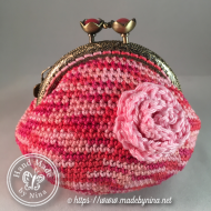 Raspberry Ripple *Coin Purse