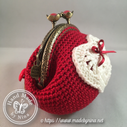 Red Love *Coin Purse (Side)
