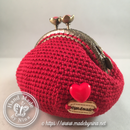 Red Love *Coin Purse (Back)