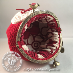 Red Love *Coin Purse (Inside)