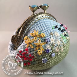 Forever Spring Garden III *Coin Purse (Side)