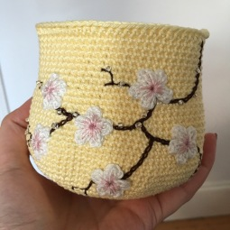 Yellow Cherry Blossom *Card Purse (WIP)