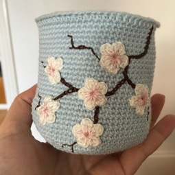 Blue Cherry Blossom *Card Purse (WIP)