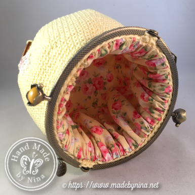 Yellow Cherry Blossom *Card purse (Inside)