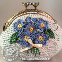 Forget-Me-Not *Card Purse