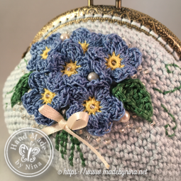 handmade crochet coin purse unique women gift