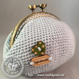 Forget-Me-Not *Card Purse (Back)