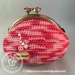 Raspberry Ripple *Card Purse (Back)