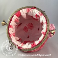 Raspberry Ripple *Card Purse (Inside)
