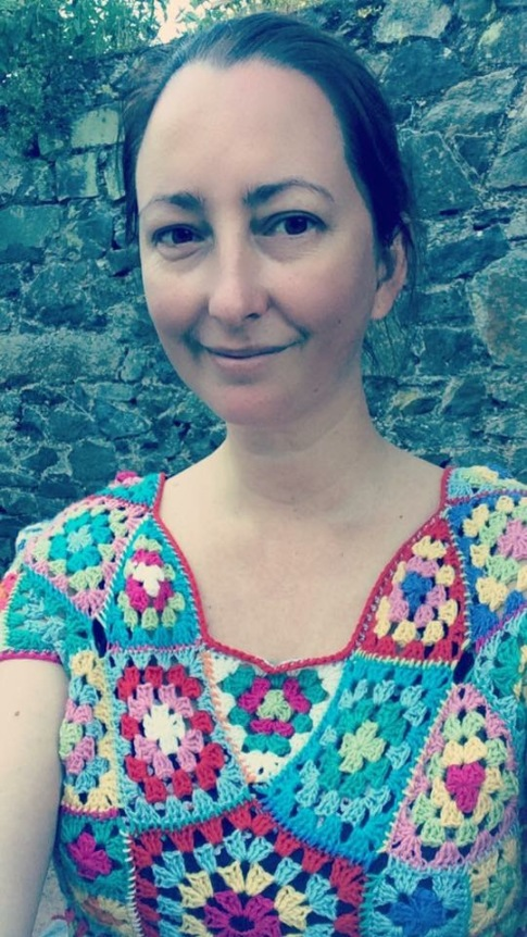 Granny Square 1970's top