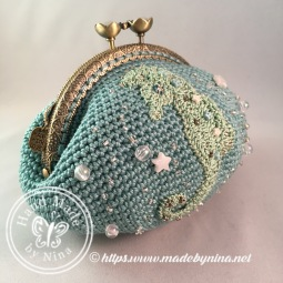Seahorse *Card Purse (side)