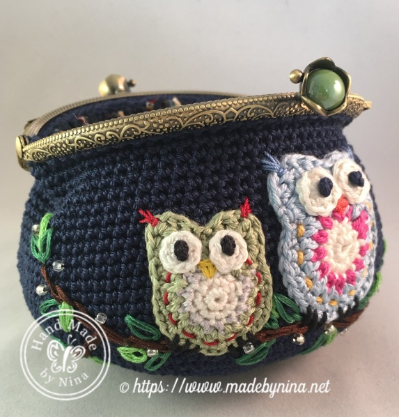 Owl be there for you *Card Purse (open)