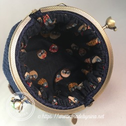 Owl be there for you *Card Purse (inside)