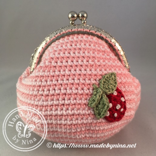 Strawberry 'n Cream *Card Purse