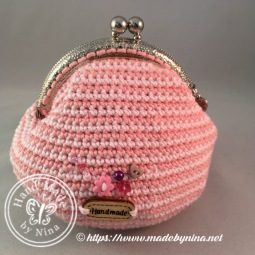 Strawberry 'n Cream *Card Purse (Back)