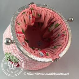 Strawberry 'n Cream *Card Purse (Open)