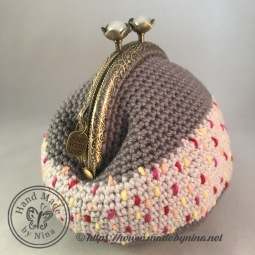 Grey Speckle *Card Purse (Side)