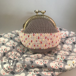 Grey Speckle *Card Purse