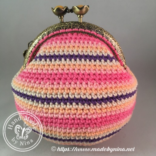 Candy Stripe *Card Purse