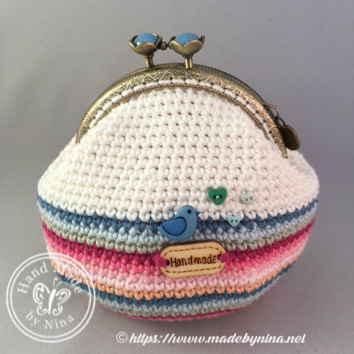 Rainbow Cloud *Card Purse (back)