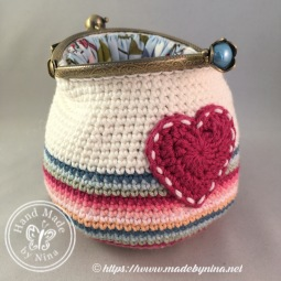 Rainbow Cloud *Card Purse (open)